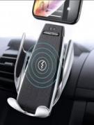 Держатель для телефона в авто с беспроводной зарядкой