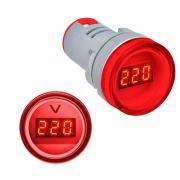 Вольтметр AC 60-500V (AD16-22DSV) красный Sinotimer