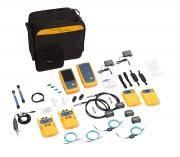 Кабельный тестер для сертификации СКС DSX2-8000 CableAnalyzer (wifi) с модулями оптического тестера ММ CertiFiber Multimode MM OLTS и видеомикроскопом FI-7000
