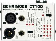 Behringer CT100 Кабель-тестер, разъемы XLR, TRS (1/4-1/8)