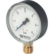 "Watts F+R200(MDR) 80/6x1/2"" Манометр радиальный 80 мм, 0-6 бар. 10007790(03.20.206)(M1-80 0-6BAR)"