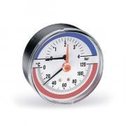 Термоманометр Watts F+R 818/6, аксиальный