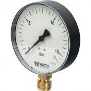 "Watts F+R200(MDR) 100/16x1/2"" Манометр радиальный 100мм, 0-16 бар 10008079(03.22.216)(M1-100 0-16BAR)"