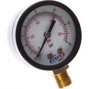 Манометр радиальный 6 атм, 50 мм aquamotor ar112010