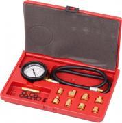 МАСТАК Манометр для измерения давления масла, 0-7 бар, комплект адаптеров 120-20020C