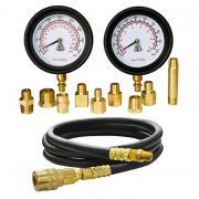 МАСТАК Манометр для измерения давления масла, два манометра, 0-7 и 0-28 бар 120-20028C
