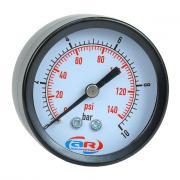 Манометр аксиальный 10 атм, 50 мм aquamotor ar112007