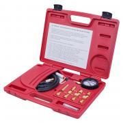 МАСТАК Манометр для измерения давления масла, 0-21 бар, комплект адаптеров 120-20012C