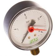 """Манометр 0-4 бар, 1/4"""" (радиальное соединение), 63 мм far fa 2500 r04"""