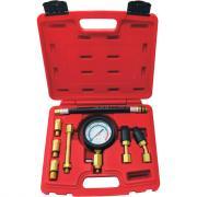 Бензиновый компрессометр 0-21атм, кейс, 8шт мастак 120-10821c