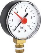 Манометр радиальный PROFACTOR SG 861-10, 10 bar диаметр 53 мм