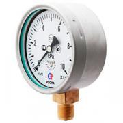Напоромер (манометр КМ или манометр низкого давления) РОСМА , КМ-11 (6-60кПа) кл.т. 2,5 осевой