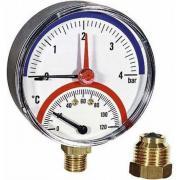 Термоманометр watts f+r828 радиальный, 80 mm 10025526