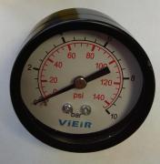 Манометр с задним подключением 1/4 (50/10 bar) Vieir