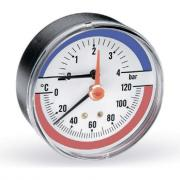 Термоманометр watts f+r818 аксиальный, 80 mm 10009464