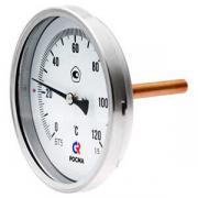 Термометр осевой биметаллический РОСМА серии 211 БТ-31.211-100