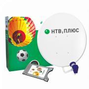 Комплект спутникового ТВ НТВ-ПЛЮС Полный комплект Модуль с антенной Запад