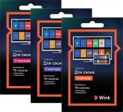 Электронный код Wink Для Своих (aкция) (12 месяцев)