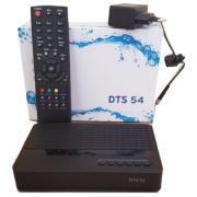 Комплект спутникового телевидения с приемником DTS 54, картой доступа, антенной с кронштейном и конвертором