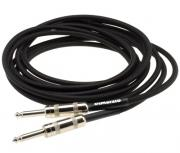INSTRUMENT CABLE 18` BLACK/GRAY EP1718SSBKGY