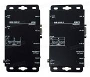 Удлинитель линий HDMI (версия 1.3c) по одному кабелю витая пара (5e/6 Кат) на длины до 100 м, каскад