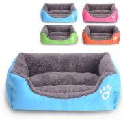 Кошка Собака Кровати Животные Коврики и подушки Однотонный Водонепроницаемость Милые Розовый Зеленый Синий Для домашних животных