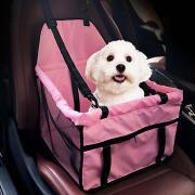 Кошка Собака Чехол для сидения автомобиля Собака обновления Животные Корпусы Компактность Дышащий Двусторонний Однотонный Серый Розовый