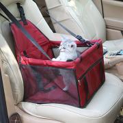 Кошка Собака Чехол для сидения автомобиля Животные Корпусы Водонепроницаемость Компактность Дышащий Однотонный Красный Синий Розовый