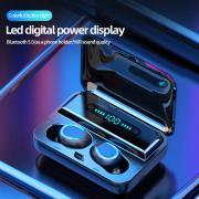 Bluetooth 5.0 8D HIFI TWS Bluetooth Наушники Шум Отмена Беспроводные наушники Спорт сенсорный контроль Мини Наушники с Power Bank