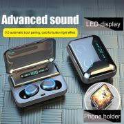 TWS True Беспроводные Bluetooth наушники в ухе Стерео музыкальные наушники Невидимые наушники