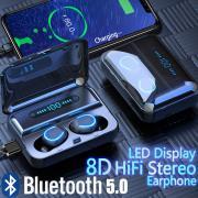 F9-5 TWS True Беспроводные Bluetooth наушники в ухо Стерео Музыка гарнитуры Невидимый наушник