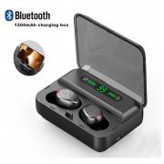 F9-5 TWS Беспроводной Bluetooth 5.0 Ухофон Мини Невидимый Стерео Шум Отмена гарнитуры светодиодный дисплей