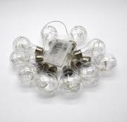 Светодиодные мигающие гирлянды Лампочки 10 LED (Белый)