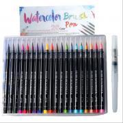 Набор из 20 цветных маркеров для живописи
