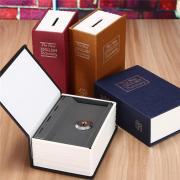 Мини Безопасный Box Piggy Банк Секретная книга для монеты Деньги Stash безопасности Скрытые сейфы наличные деньги хранение ювелирных изделий цифровой пароль Locker