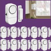 Беспроводной домашней безопасности окна Двери противовзломные безопасности будильник системы магнитный датчик для домашней безопасности