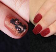 NEW! Бархатные ногти (бархатный песок+ флок)