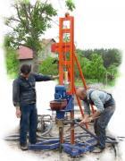 Бурение скважин Малогабаритная Буровая Установка Бурение за 1 метр от 25 метров