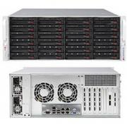 Серверная платформа Supermicro SuperStorage 4U Server 6049P-E1CR24L noCPU(2)Scalable/TDP 70-205W/ no DIMM(16)/ 3008RAID HDD(24)LFF/ 2x10Gbe/ 5xFH/ 2x1200W