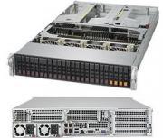 "Supermicro SYS-2049U-TR4 (Complete System Only) - 2U, 4xLGA3647, iC621, 48xDDR4, 24x2.5"" HS drive, 4"