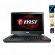 "Ноутбук MSI GT83VR 7RE-249RU 18.4"" FHD IPS, Intel Core i7-7820HK, 16Gb, 1Tb + SSD 128Gb, DVD-RW, Nvidia Dual GTX1070 8Gb, Win10, черный (9S7-181542-249)"
