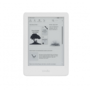 Электронная книга Amazon Kindle with a built-in front light with Ads White (B07FQ4T11X)