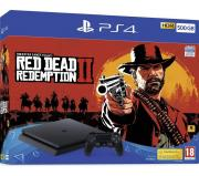 Sony PlayStation 4 Slim 500 ГБ + Red Dead Redemption 2 Black CUH-2216A