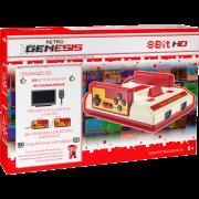 Игровая приставка Retro Genesis 8 Bit HD + 300 игр (HDMI кабель, 2 проводных джойстика)