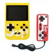 Портативная игровая консоль Sup Game box 400 in 1 с джойстиком (Желтый)