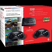 Игровая приставка SEGA Retro Genesis HD Ultra + 150 игр ZD-06 (2 беспроводных 2.4 ГГц джойстика, HDMI кабель)