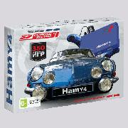 Игровая приставка 8 bit - 16 bit Hamy 4 (синяя) (350 встроенных игр)