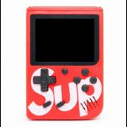 Портативная игровая приставка SUP 400в1 + джойстик (Красная)