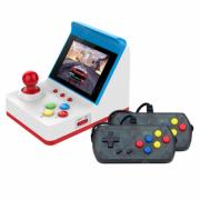 Портативная мини-игровая консоль с 3-дюймовым экраном 360 встроенных игр (Белая)