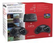Игровая приставка SEGA Retro Genesis HD Ultra ConSkDn57 Черный +50 игр